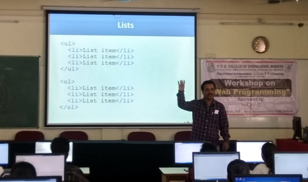 Workshop on Web Programming
